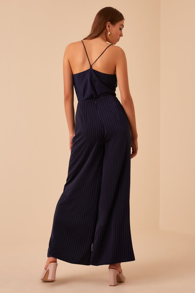 FLAMENCO CAMI navy stripe