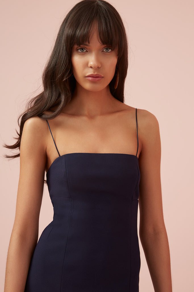 MAGDALENA DRESS navy