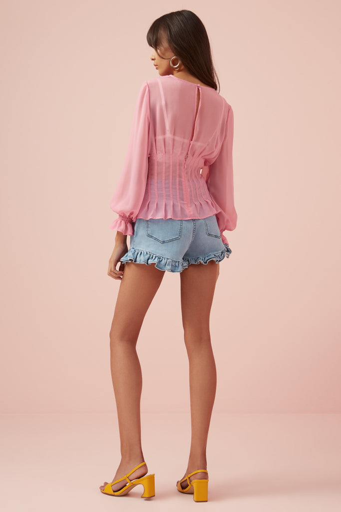BELLA TOP pink