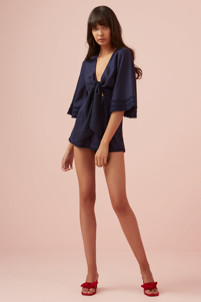 LIMONCELLO PLAYSUIT navy