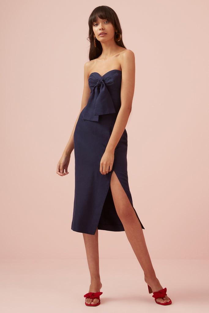 LIMONCELLO DRESS navy