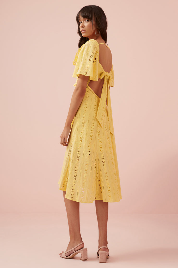 SUNDAYS DRESS yellow