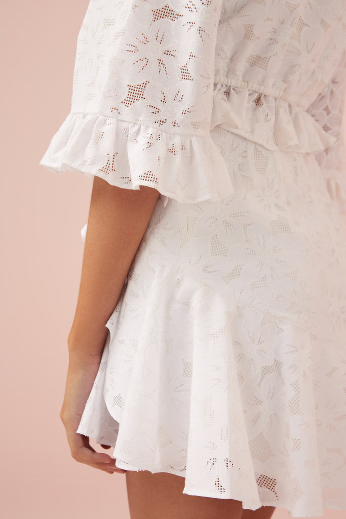 EVIE SKIRT white