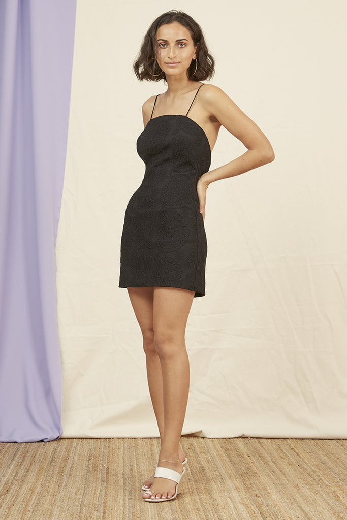 KOBIE MINI DRESS black