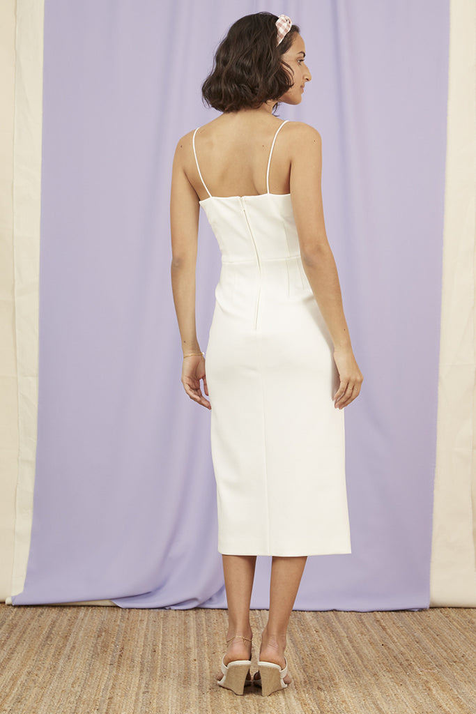 KOBIE DRESS ivory