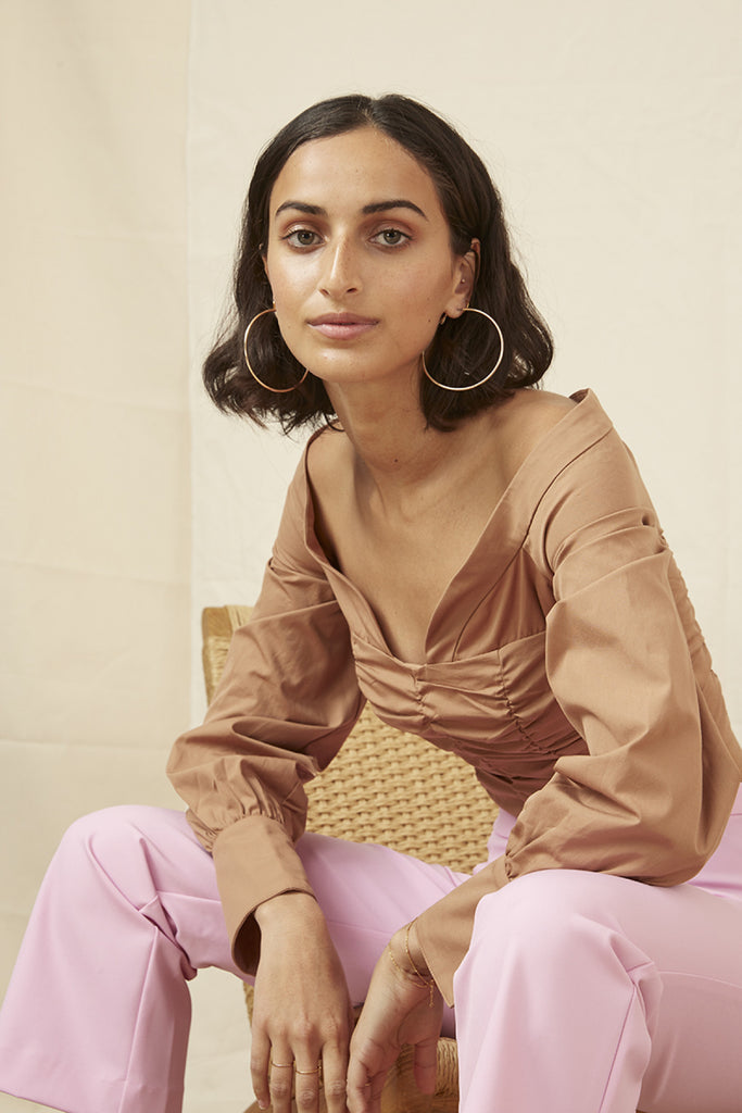 BAILEY SHIRTING BODICE tan
