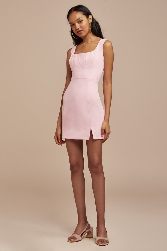 NAOMI MINI DRESS fuschia