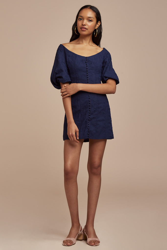 ELLE MINI DRESS navy