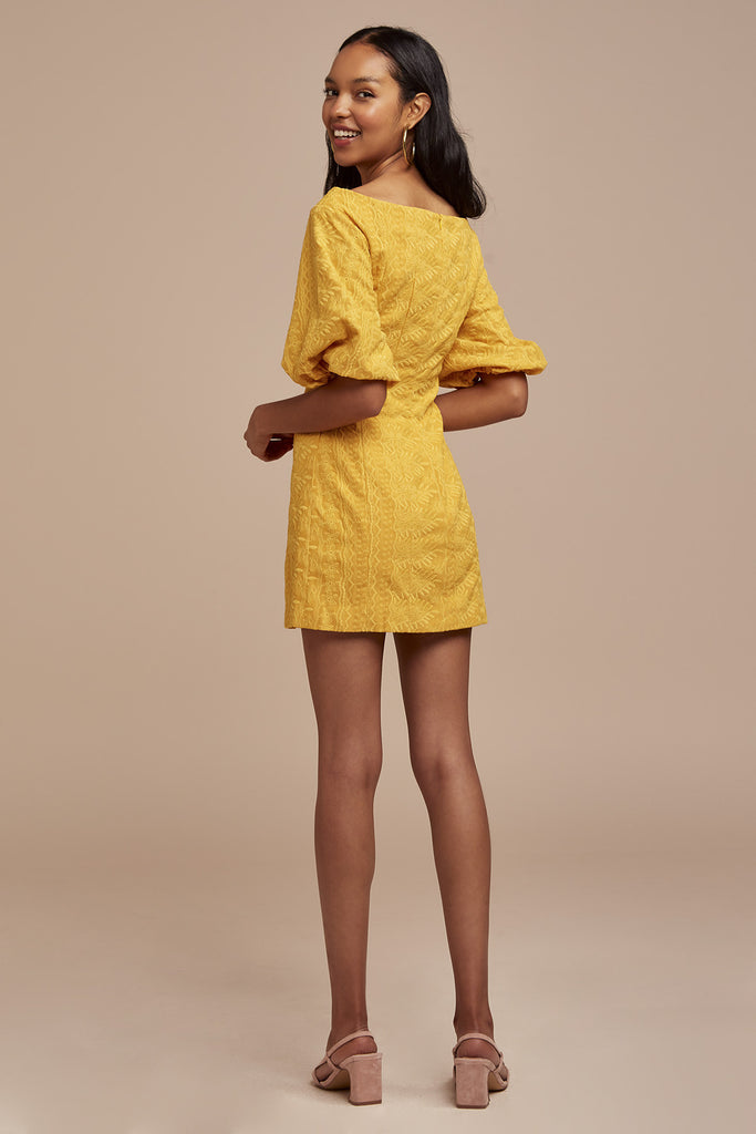 ELLE MINI DRESS marigold