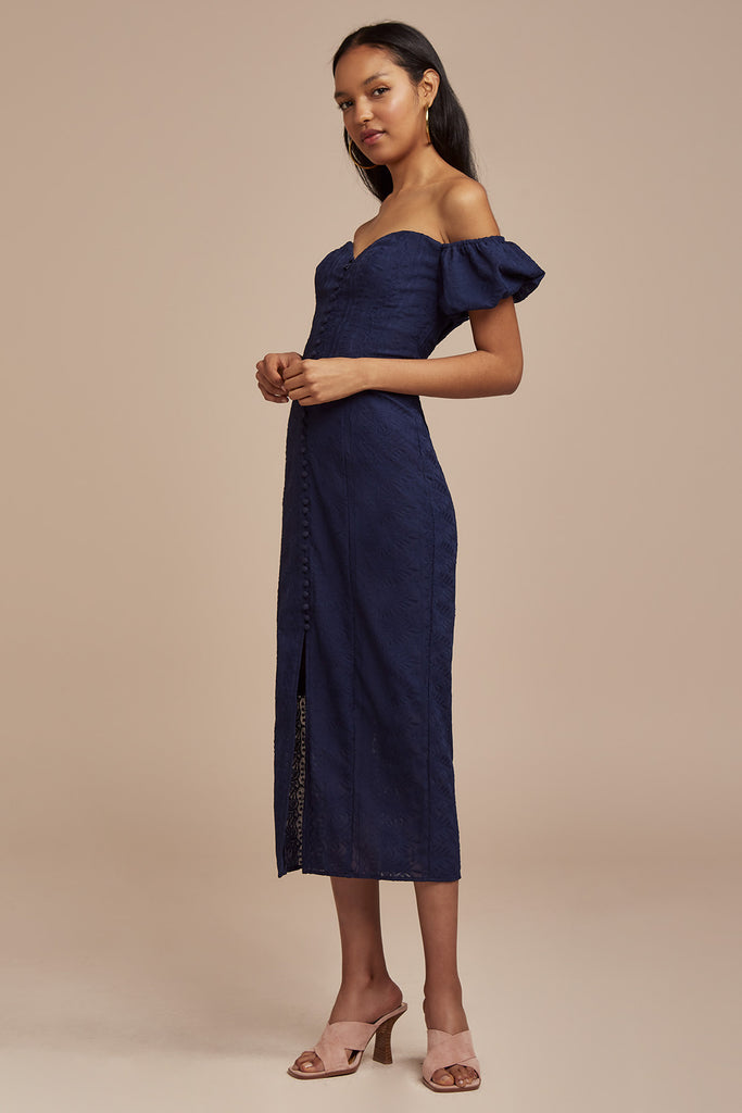 ELLE DRESS navy