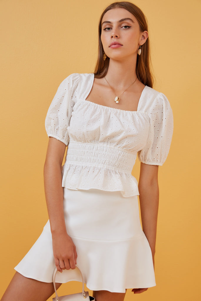 e92679b66a FINDERS KEEPERS | LINES SKIRT ivory – Finders Keepers | Australian Womens  Fashion Label