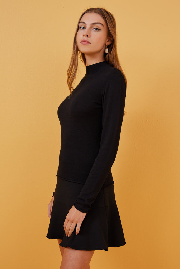 CARINA KNIT black