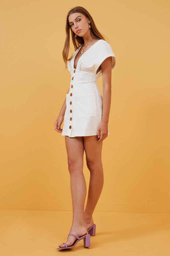 JADA MINI DRESS ivory
