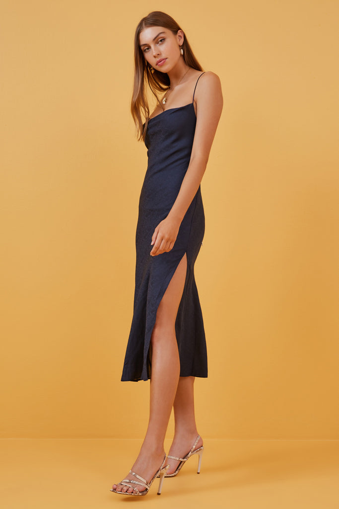 EVE DRESS navy