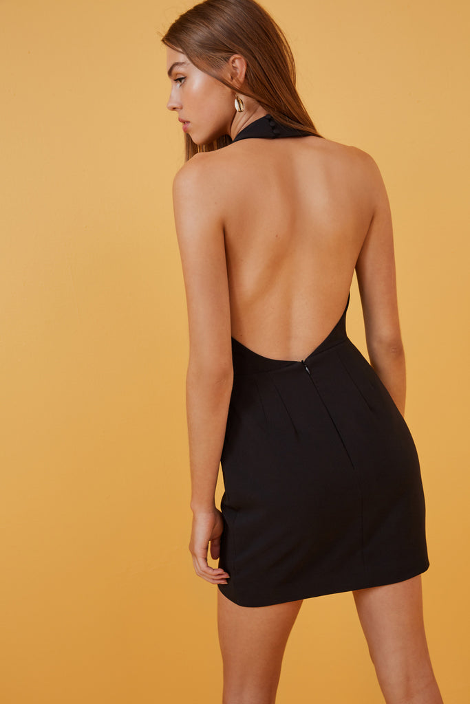 DREAMS MINI DRESS black