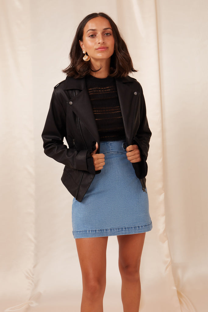 BIANCA JACKET black