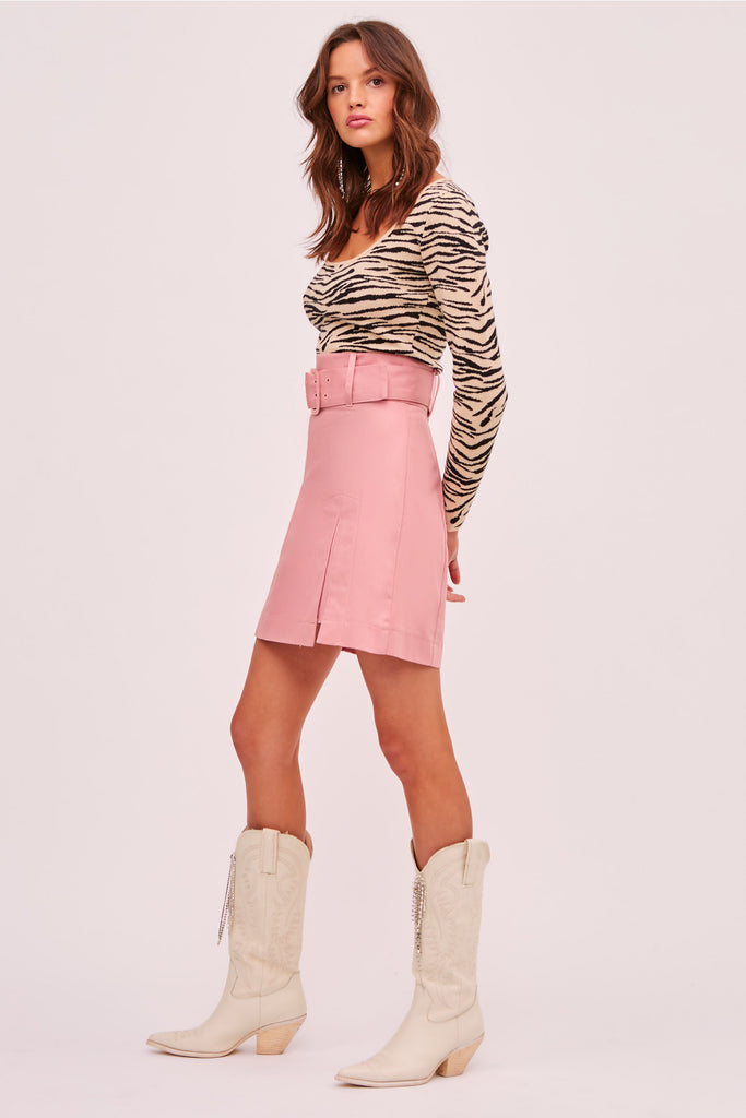 HELOISE SKIRT pink