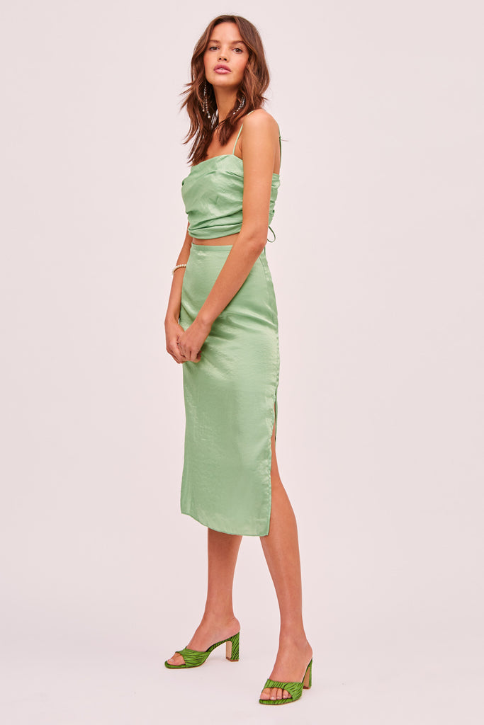 YASMINE SKIRT green