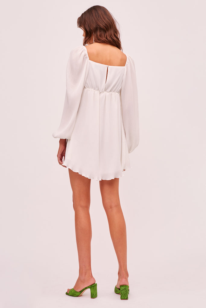 ADELINE MINI DRESS ivory