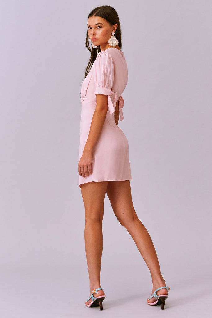 FRANCIS DRESS blush