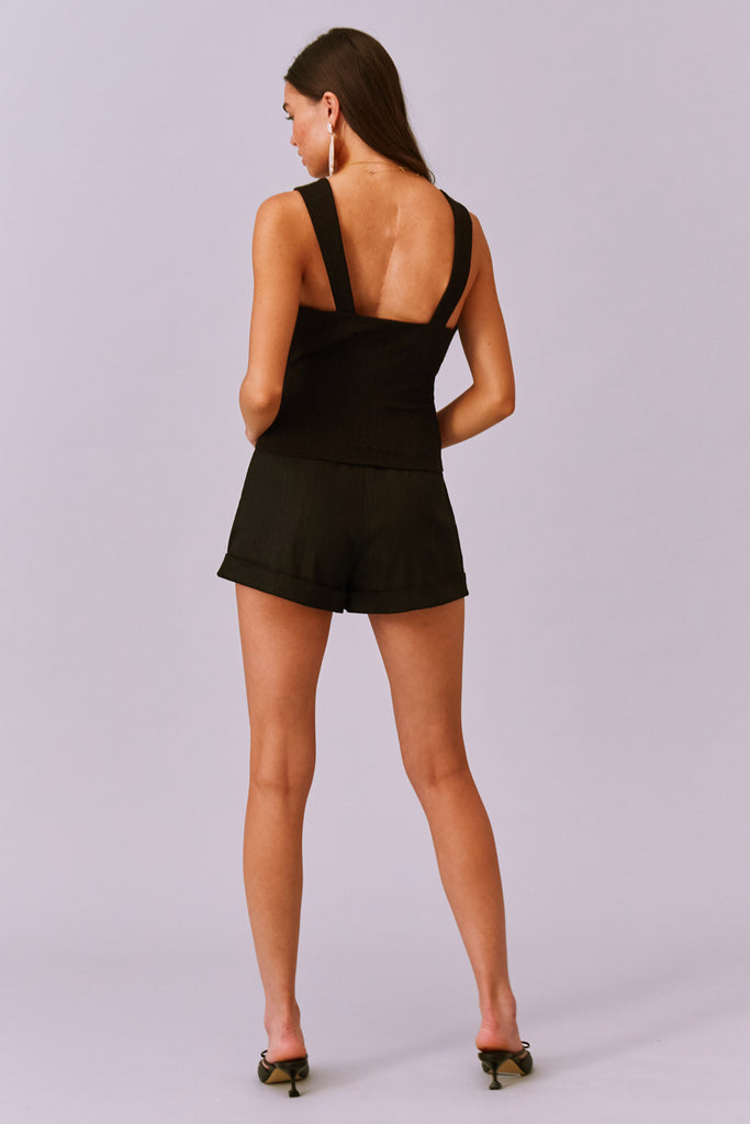 VALENTINA SHORT black