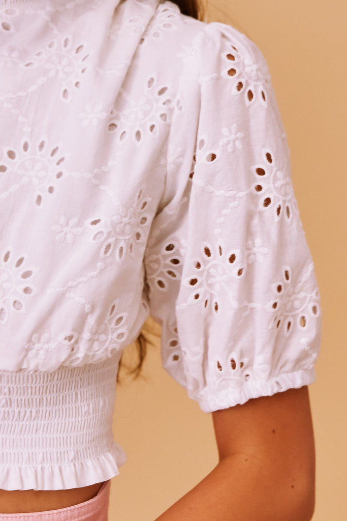 DITSY DOO TOP white