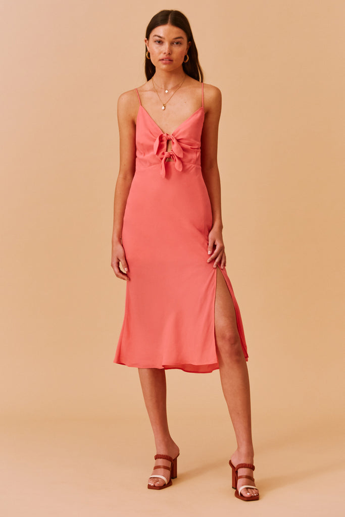 SALLY DRESS coral