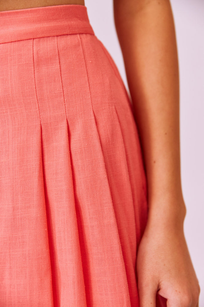 SALLY SKIRT coral
