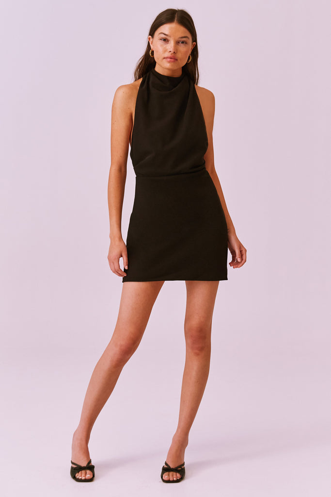 MAE MINI DRESS black