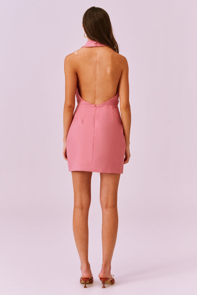 MAE MINI DRESS pink