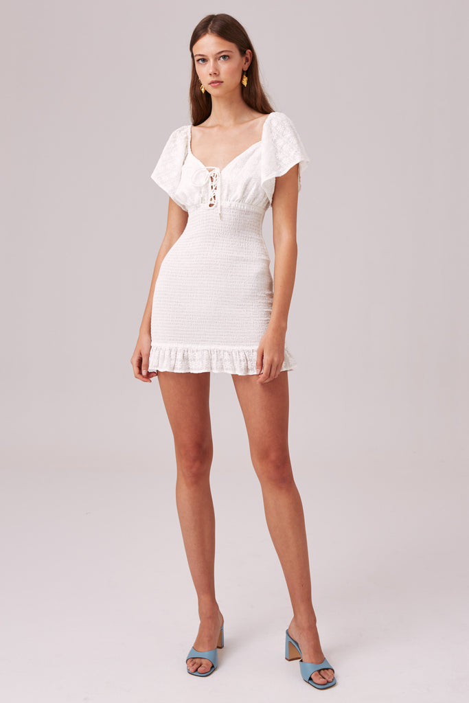 RIVIERA DRESS white