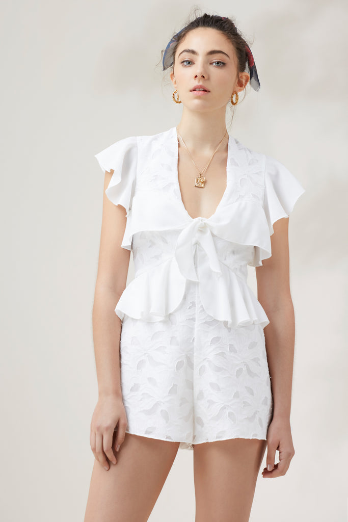 KINDRED PLAYSUIT ivory