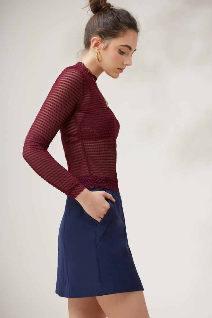 MIRAGE LONG SLEEVE TOP fig