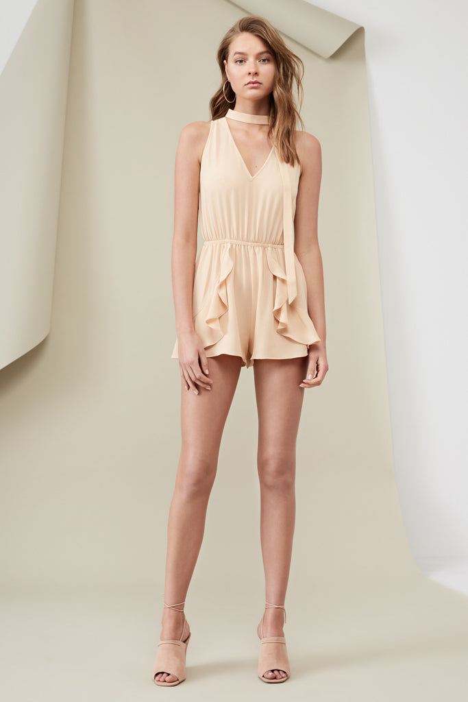 CURTIS PLAYSUIT wheat