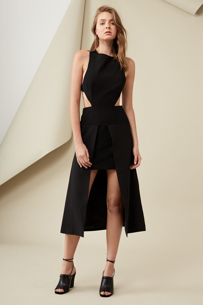 LARA DRESS black