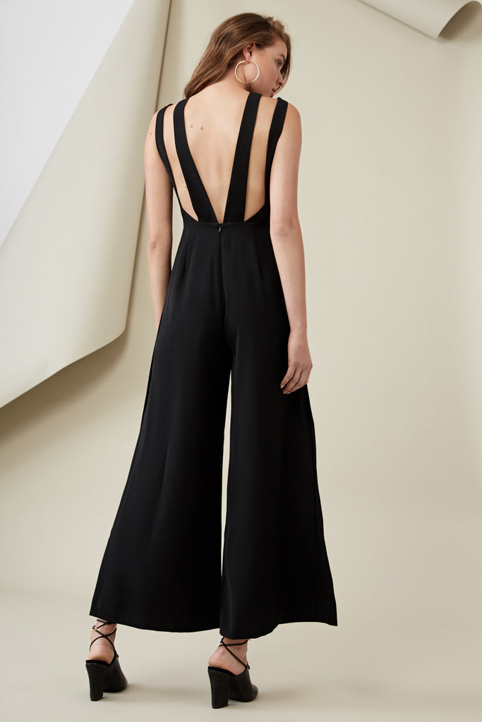LUCA JUMPSUIT black