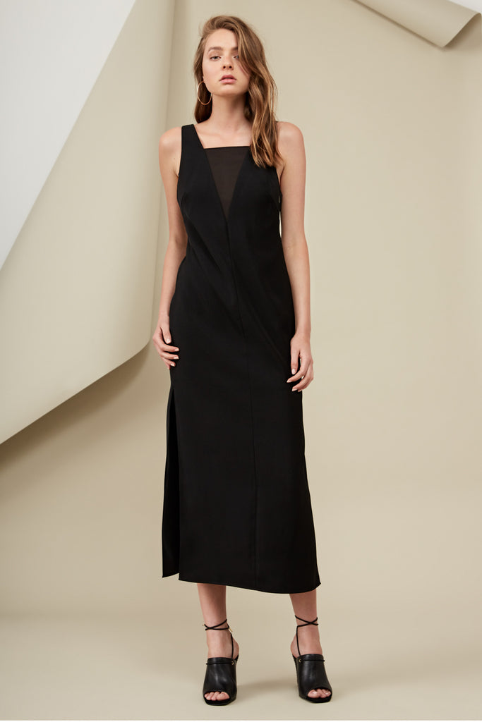 LUCA MAXI DRESS black