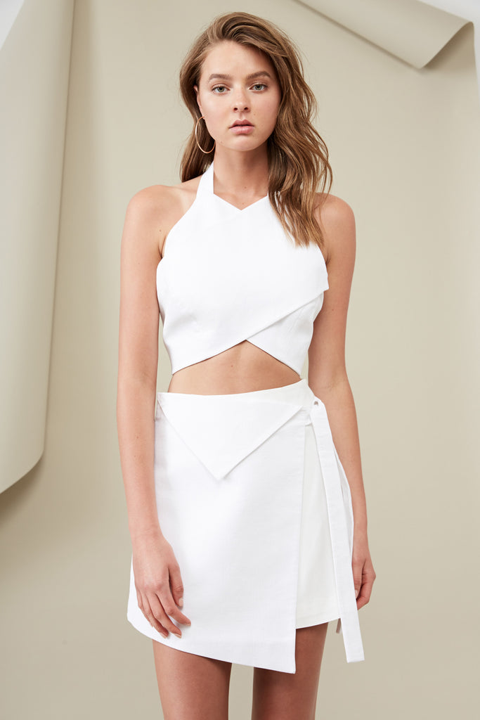 ARABELLA CROP TOP cloud
