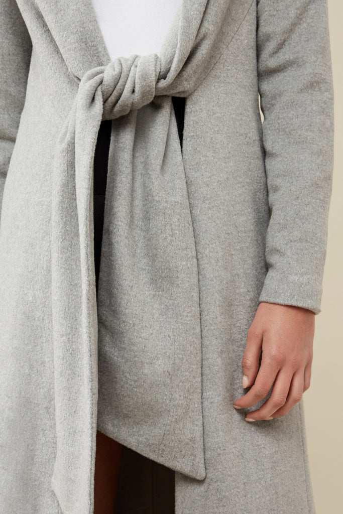 JOVIE COAT marle grey