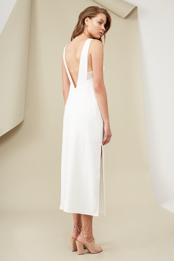 LUCA MAXI DRESS cloud