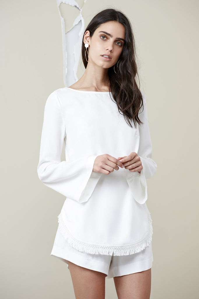 ASTER LONG SLEEVE TOP cloud