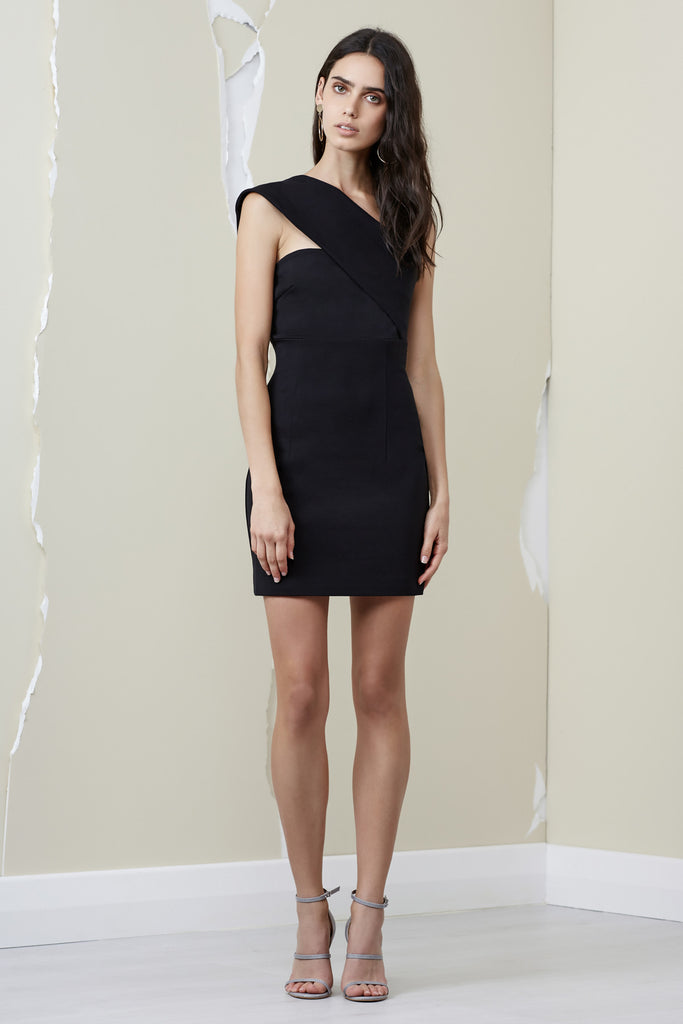 ASTON DRESS black