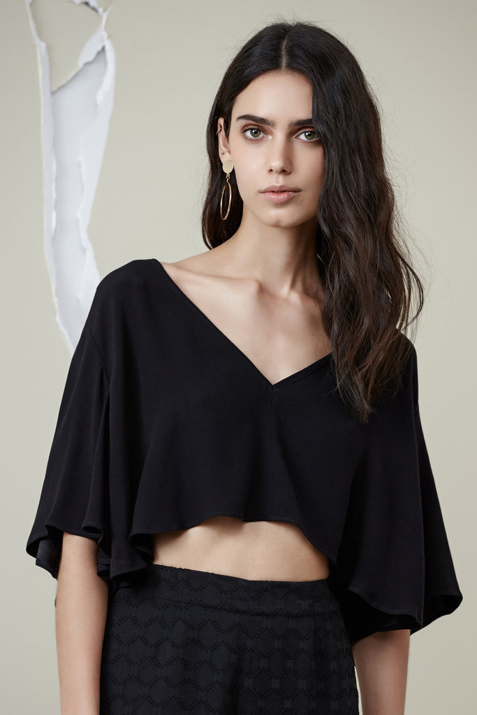 RYDER CROP TOP black