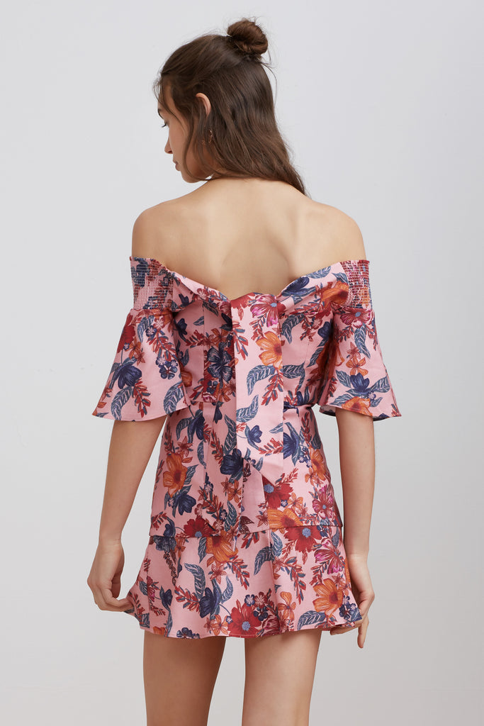 RHAPSODY MINI DRESS blossom floral