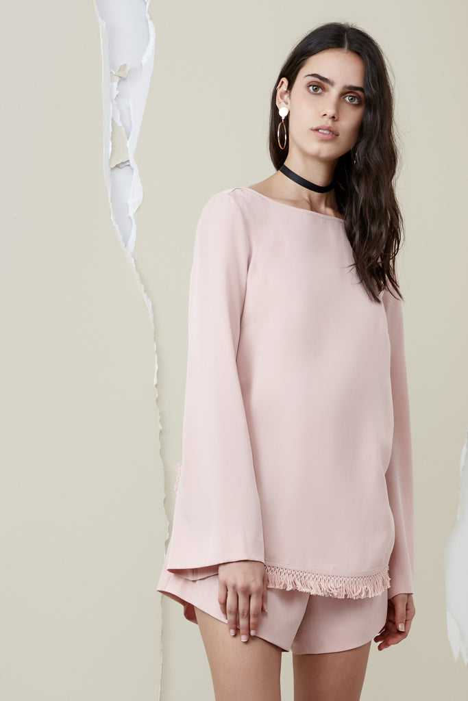 ASTER LONG SLEEVE TOP dusk