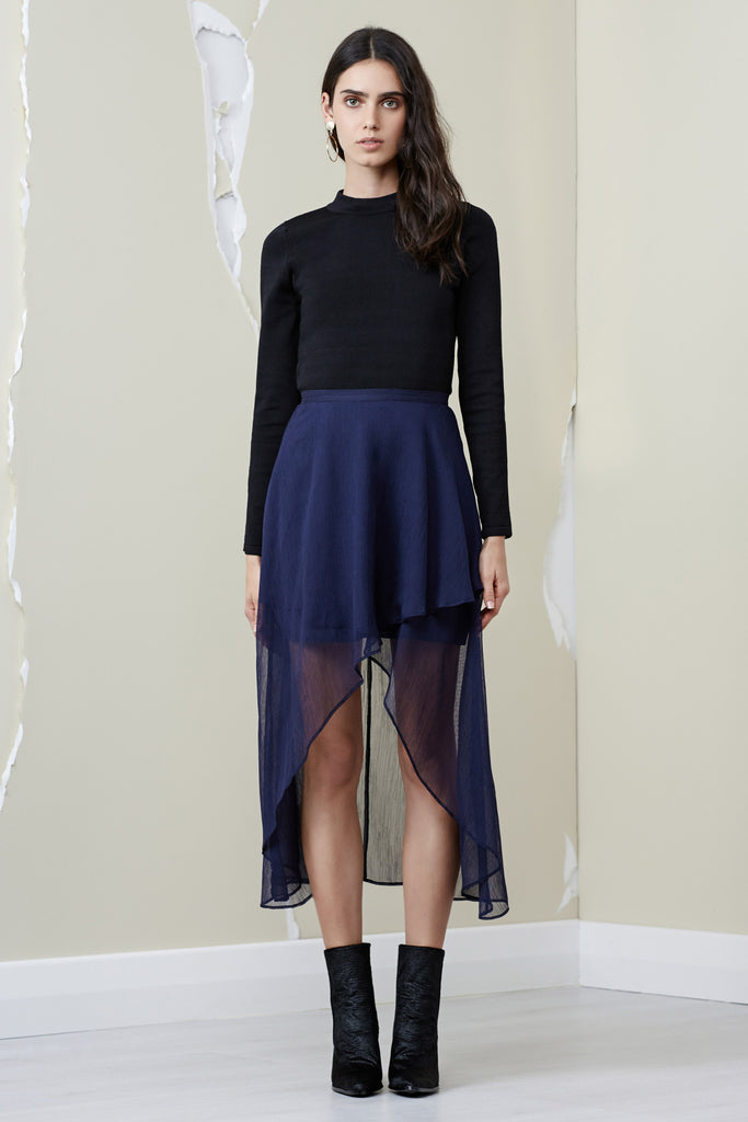 MANTLE SKIRT navy