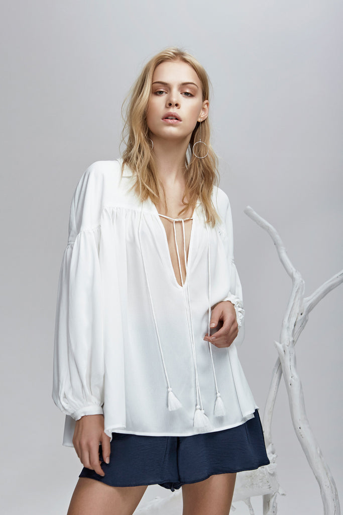 STEVIE BLOUSE cloud
