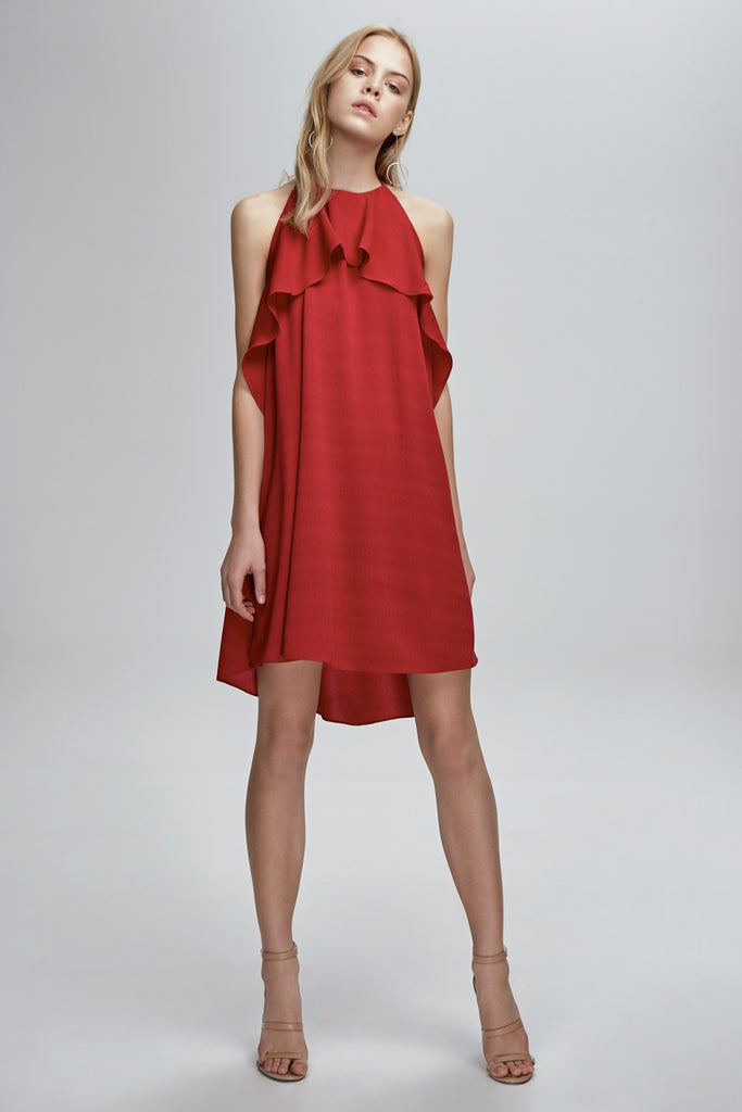 WILLOW DRESS cherry