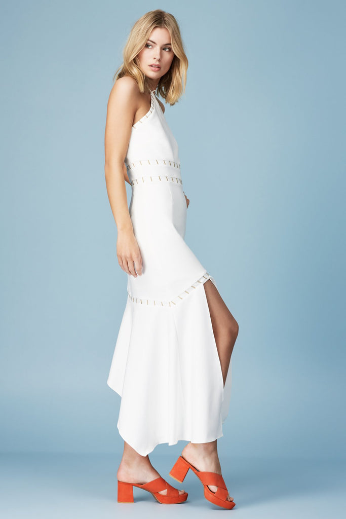 Finders Keepers | Talisman Midi Dress | Ivory – Finders Keepers ...