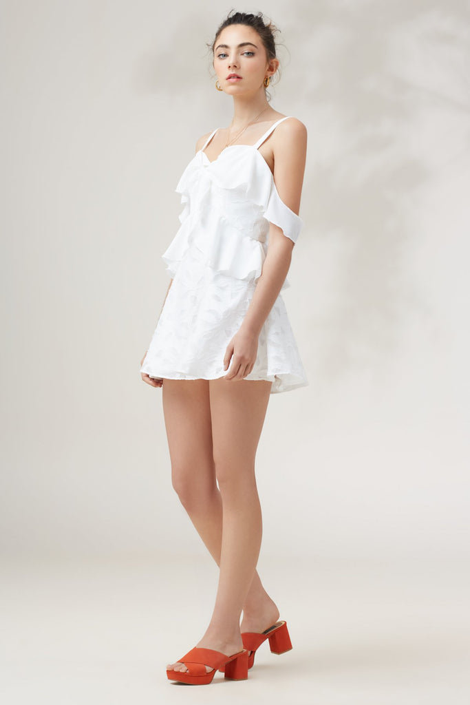 KINDRED MINI DRESS ivory